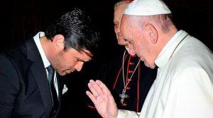 Eduardo Verastegui Bendecido por el Papa
