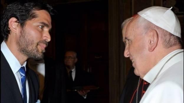 Eduardo Verástegui presenta película Little Boy en el Vaticano