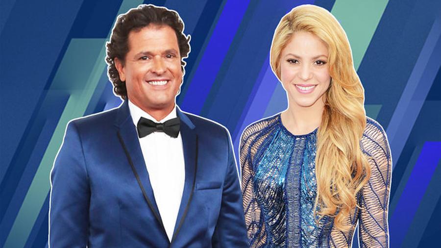 #10 Carlos Vives Ft. Shakira – La Bicicleta